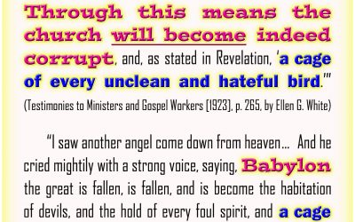 Worldliness Would Make A Church Corrupt and Become Babylon