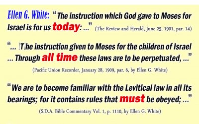 The Law of Moses Was Not Abrogated