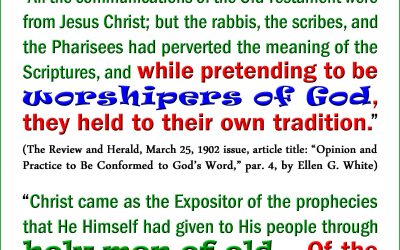 The Unbelieving Jewish People Rejected the Very God They Claimed to Love and Worship