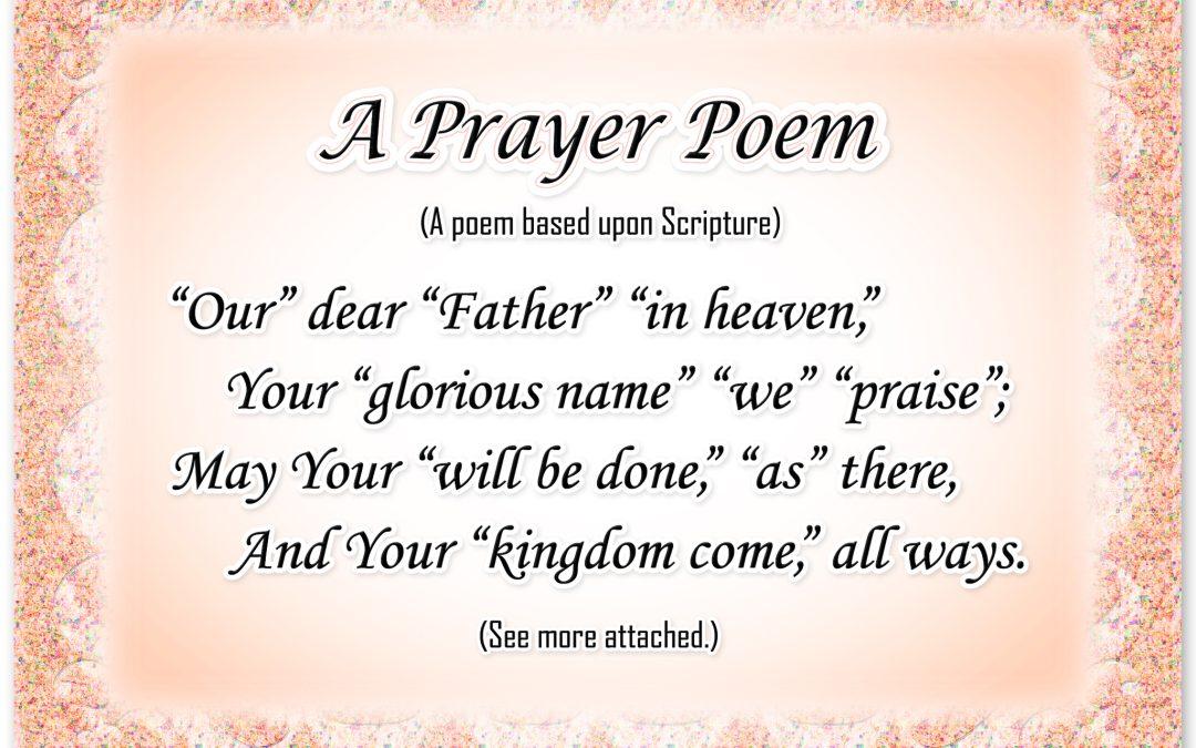A Prayer Poem