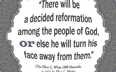 There Must Be a Decided Reformation Among Yah's People or He Will Turn Away From Them