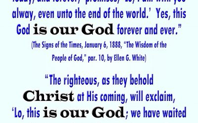 Christ is Our God