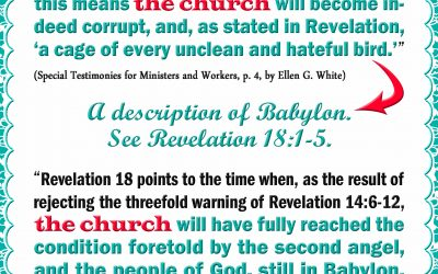 Church Becomes Babylon if Worldly, There Will be a Call to Separate From Her