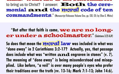The Law in Galatians Included the Moral Law