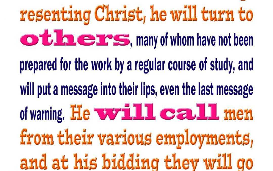 If His Ministers Misrepresent Christ, Yah Will Call Others to Do His Work