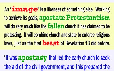 Apostate Protestantism Will Form the Image to the Beast