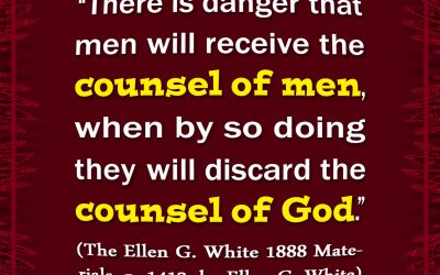 Danger of Receiving the Counsel of Men and Rejecting the Counsel of Yah